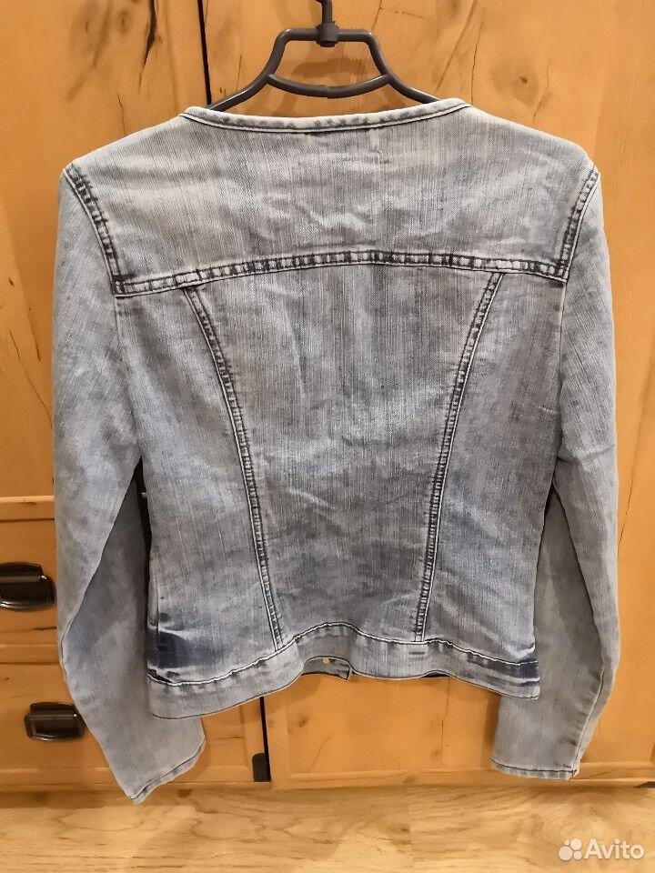 Пиджак джинсовый для девочки, р. м (46)  89103122186 купить 3
