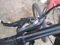 Горный велосипед на литых дисках