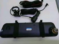 Зеркало-регистратор FHD,2 камеры + парковка