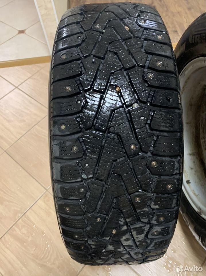 Диски + 2 резины(шипы) R16 Mercedes Benz  89231102244 купить 2