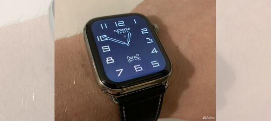 Apple Watch Hermes 44MM Series 4 на гарантии купить в Москве   Личные вещи   Авито
