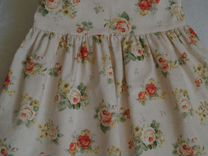 Новое хлопковое платье для малышки