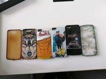 Продам чехлы и зашытку на iPhone 5