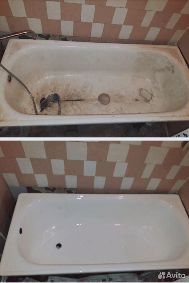 Реставрация ванн Старый Оскол
