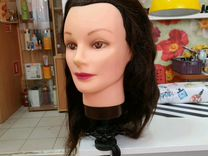 Новая манекен голова волос натуральный
