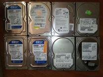 Жесткие диски SATA неисправные