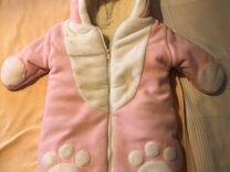 Зимний конверт-комбинезон mothercare 62-68 — Детская одежда и обувь в Новосибирске