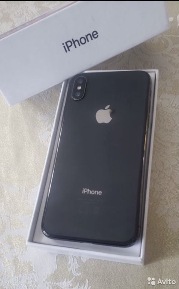 Телефон iPhone X  89105176617 купить 2