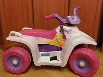 Квадроцикл peg perego winx