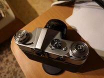 Фотоаппарат зенит-Е,с объективом helios-44-2,1974г