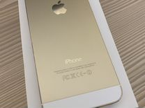 iPhone 5s золотой 16 гб
